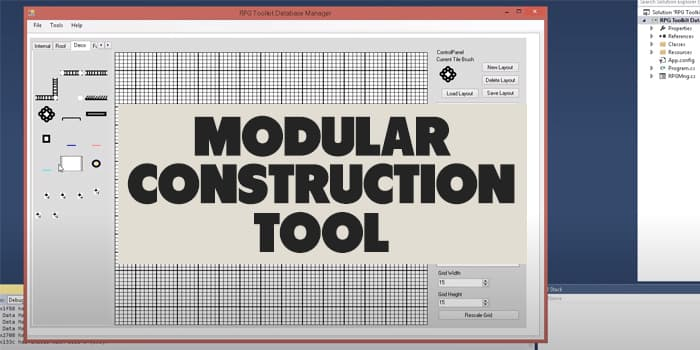 Modular Construction Toolkit
