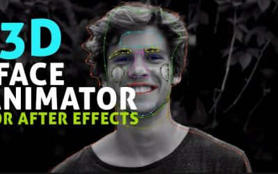3D Face Animator for After Effects