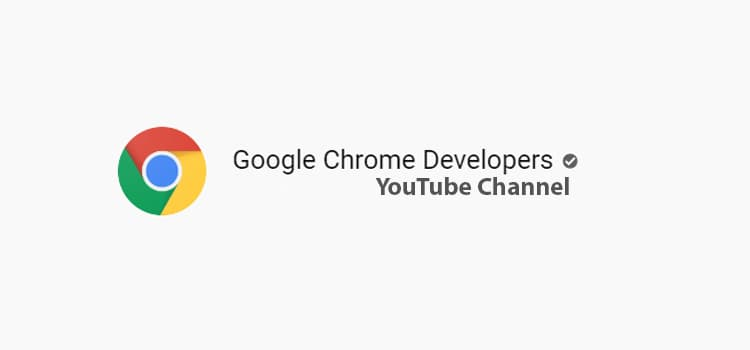 google-chrome-developers-youtube-channel