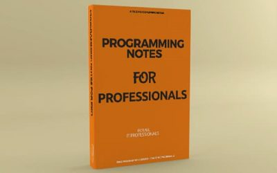 Programming Notes for Professionals