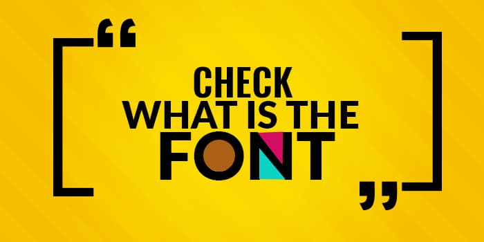 check-the-font